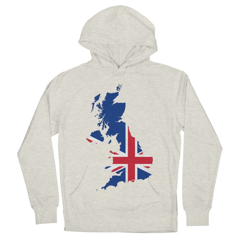 United Kingdom Patriot Apparel & Accessories Women's French Terry Pullover Hoody by Vectors NZ