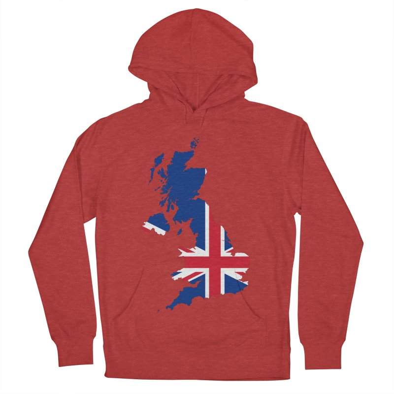 United Kingdom Patriot Apparel & Accessories Men's French Terry Pullover Hoody by Vectors NZ