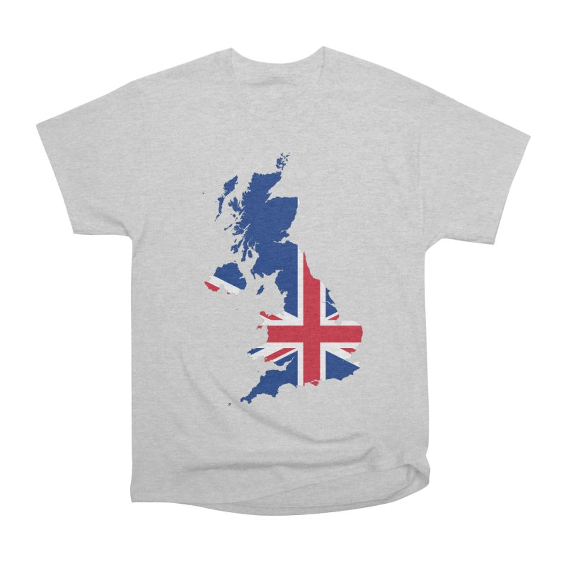 United Kingdom Patriot Apparel & Accessories Men's Heavyweight T-Shirt by Vectors NZ
