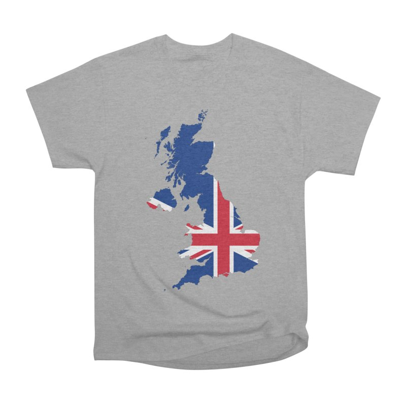 United Kingdom Patriot Apparel & Accessories Women's Heavyweight Unisex T-Shirt by Vectors NZ