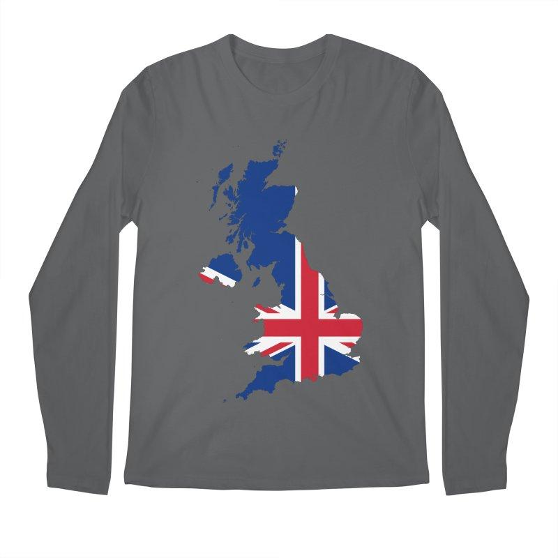 United Kingdom Patriot Apparel & Accessories Men's Regular Longsleeve T-Shirt by Vectors NZ
