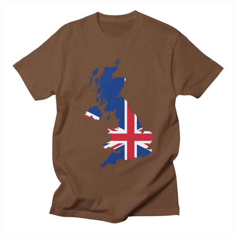 United Kingdom Patriot Apparel & Accessories Men's Regular T-Shirt by Vectors NZ