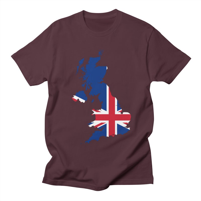 United Kingdom Patriot Apparel & Accessories Men's Regular T-Shirt by Vectors NZ