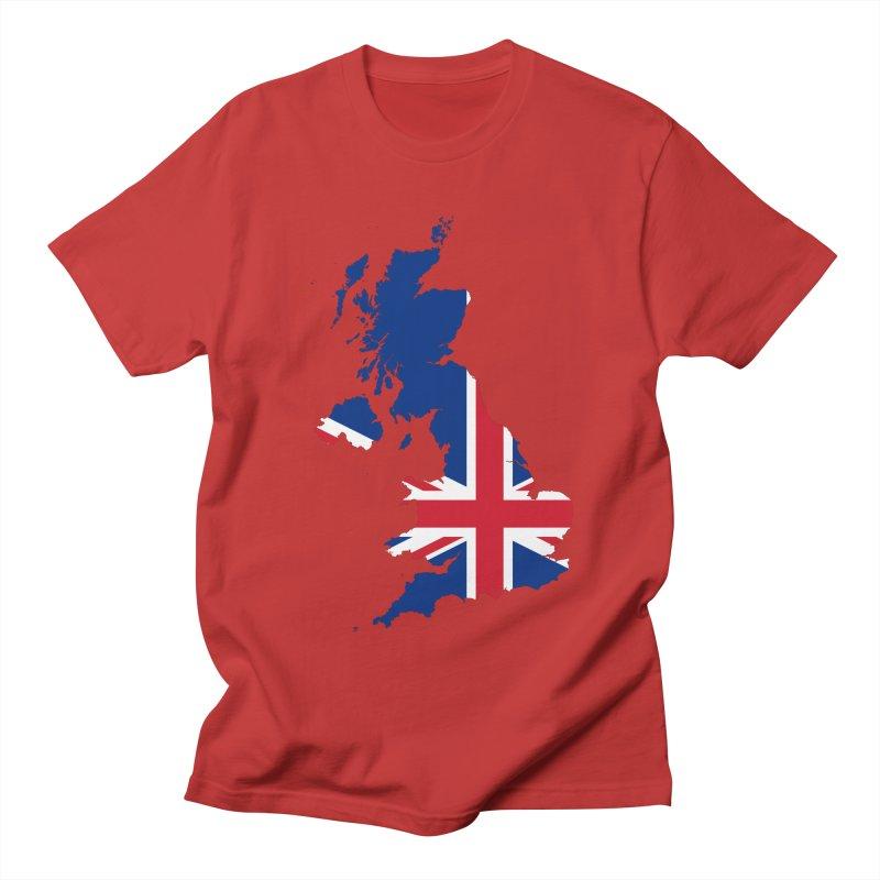 United Kingdom Patriot Apparel & Accessories Women's Regular Unisex T-Shirt by Vectors NZ