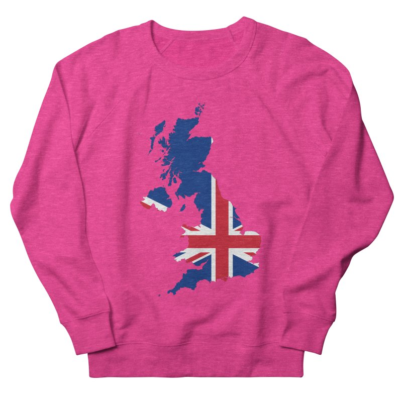 United Kingdom Patriot Apparel & Accessories Women's French Terry Sweatshirt by Vectors NZ