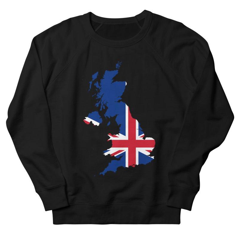 United Kingdom Patriot Apparel & Accessories Men's French Terry Sweatshirt by Vectors NZ