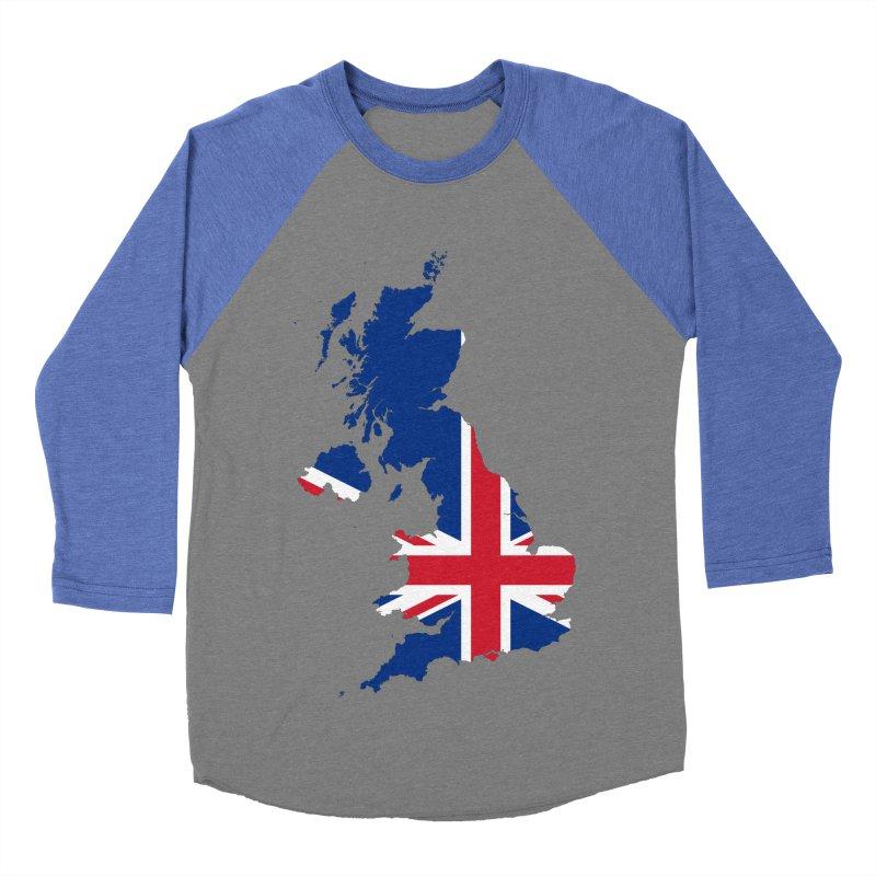 United Kingdom Patriot Apparel & Accessories Women's Baseball Triblend Longsleeve T-Shirt by Vectors NZ