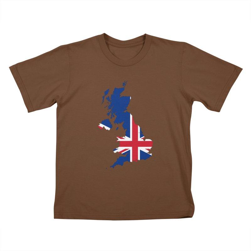 United Kingdom Patriot Apparel & Accessories Kids T-Shirt by Vectors NZ