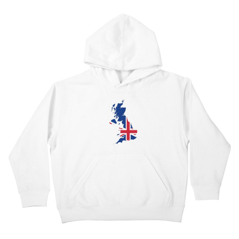 United Kingdom Patriot Apparel & Accessories Kids Pullover Hoody by Vectors NZ