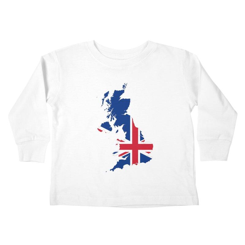 United Kingdom Patriot Apparel & Accessories Kids Toddler Longsleeve T-Shirt by Vectors NZ
