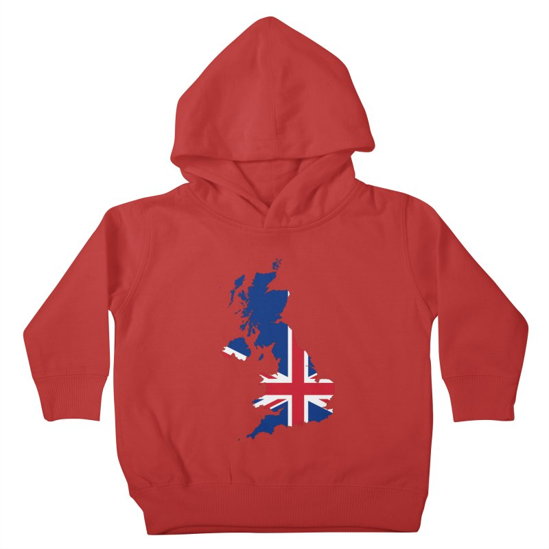 United Kingdom Patriot Apparel & Accessories Kids Toddler Pullover Hoody by Vectors NZ