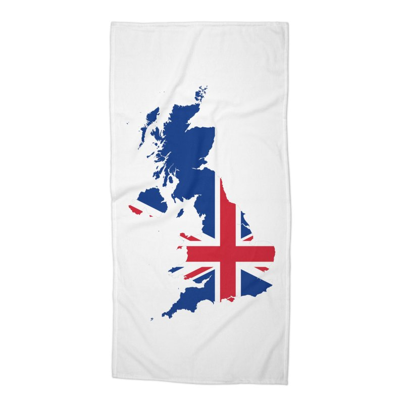 United Kingdom Patriot Apparel & Accessories Accessories Beach Towel by Vectors NZ