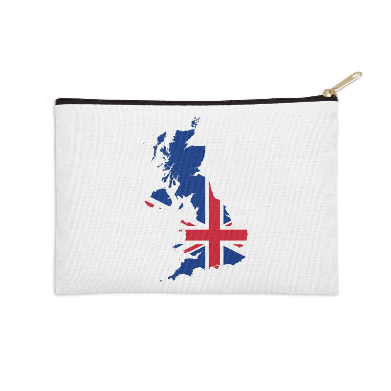 United Kingdom Patriot Apparel & Accessories Accessories Zip Pouch by Vectors NZ