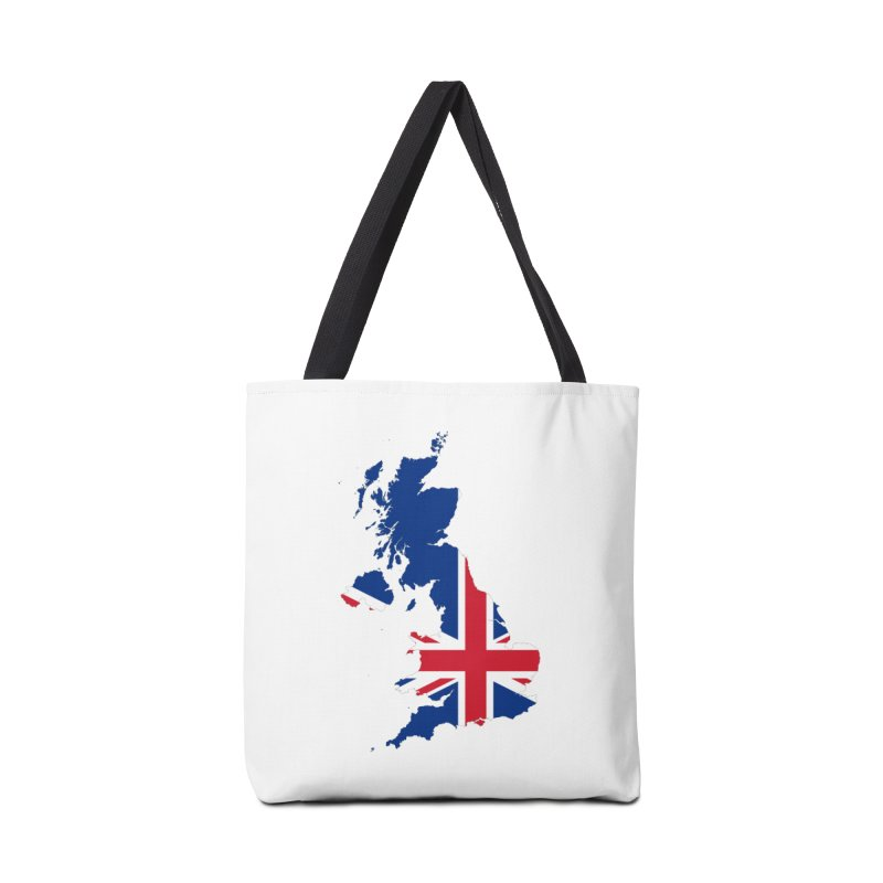 United Kingdom Patriot Apparel & Accessories Accessories Tote Bag Bag by Vectors NZ