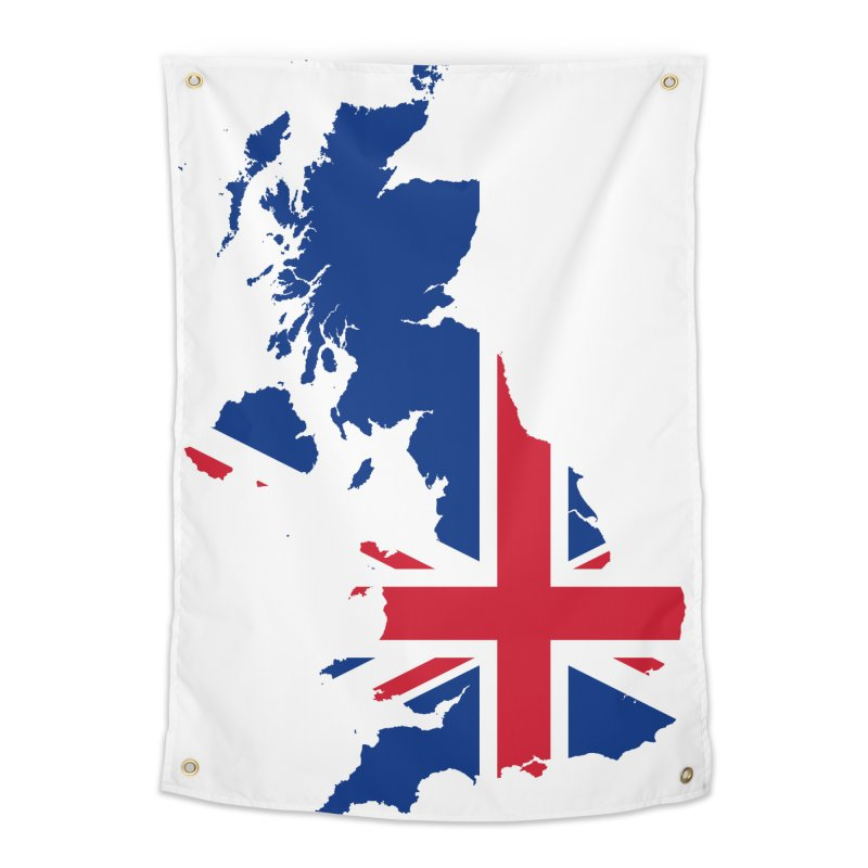 United Kingdom Home Products Home Tapestry by Vectors NZ