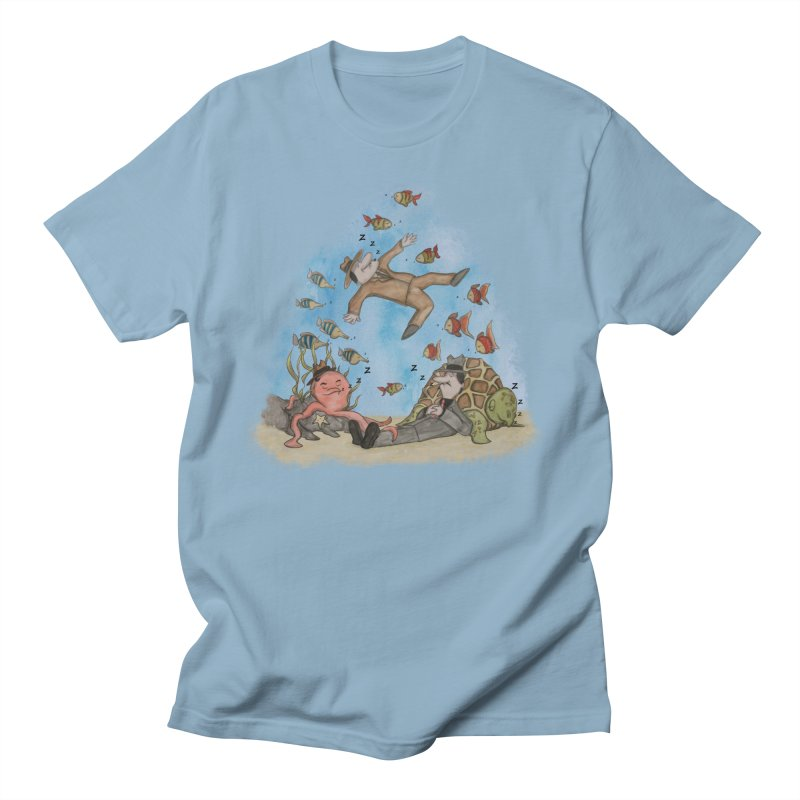 Sleeping With The Fishes Men's T-Shirt by VEEDLEMONSTER TEES