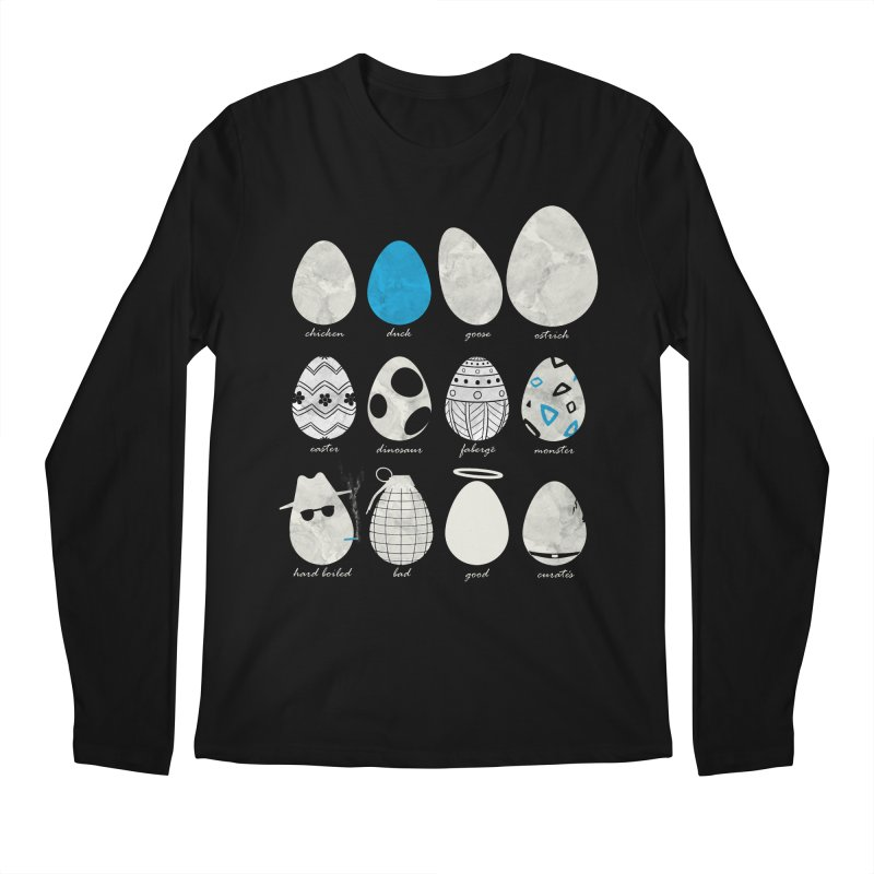 All In One Basket Men's Longsleeve T-Shirt by VEEDLEMONSTER TEES