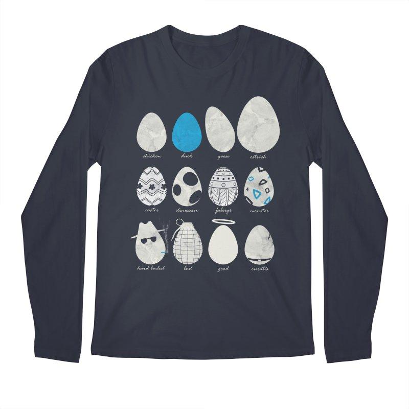 All In One Basket Men's Longsleeve T-Shirt by VEEDLEMONSTER TEES