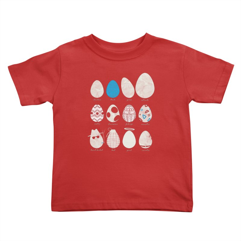 All In One Basket Kids Toddler T-Shirt by VEEDLEMONSTER TEES