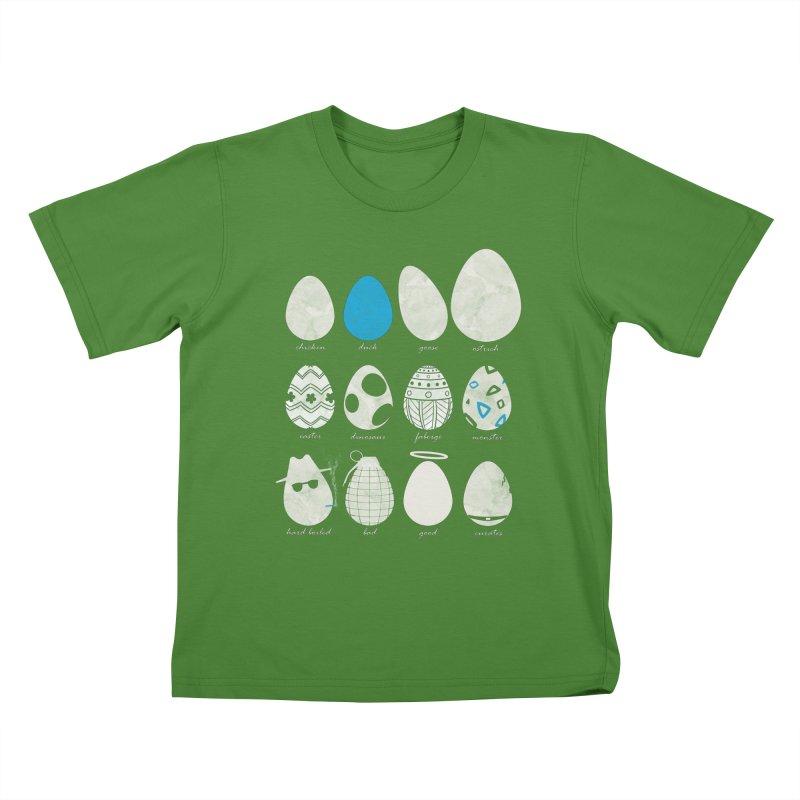 All In One Basket Kids T-shirt by VEEDLEMONSTER TEES