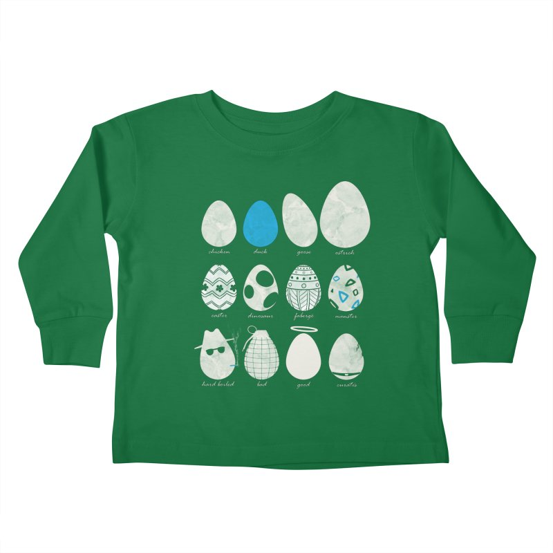 All In One Basket Kids Toddler Longsleeve T-Shirt by VEEDLEMONSTER TEES