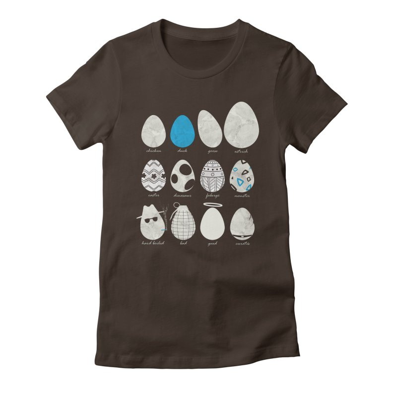 All In One Basket Women's Fitted T-Shirt by VEEDLEMONSTER TEES