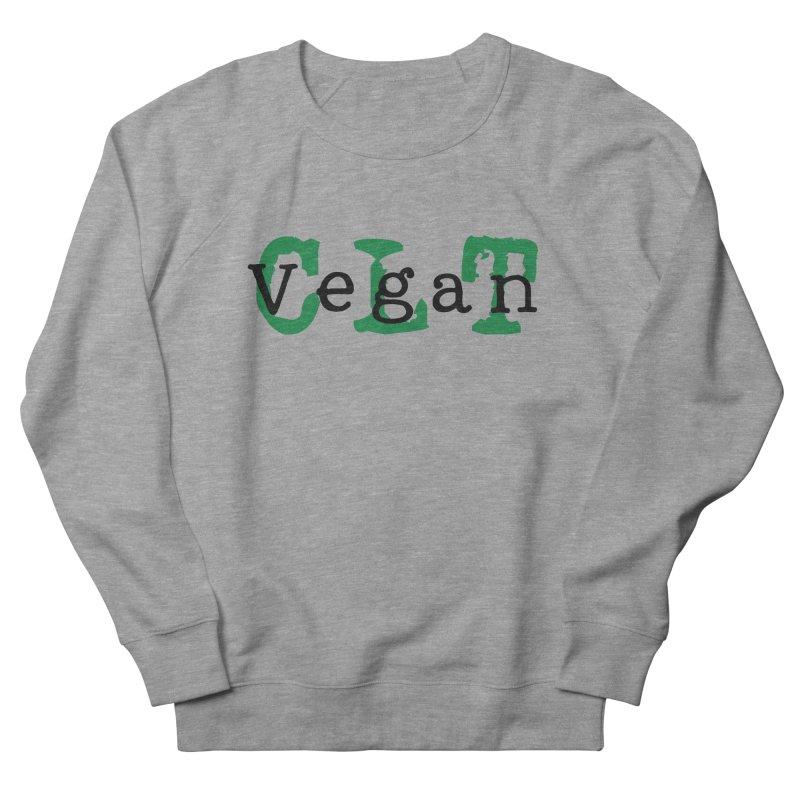 Vegan CLT (Charlotte) Women's French Terry Sweatshirt by Art From a Vegan Heart