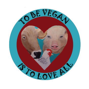 Art From a Vegan Heart Logo