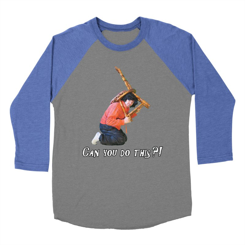 Kent The Athlete Women's Baseball Triblend T-Shirt by Vegetable Police