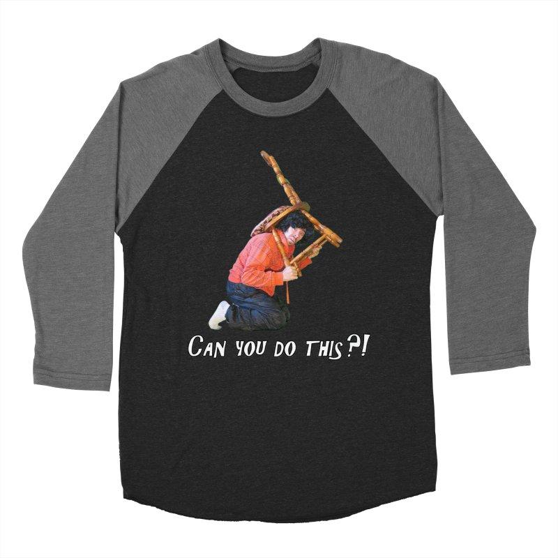Kent The Athlete Women's Baseball Triblend Longsleeve T-Shirt by Vegetable Police