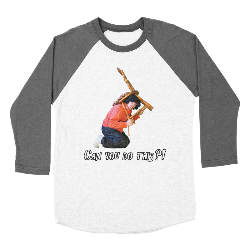 Kent The Athlete Men's Baseball Triblend T-Shirt by Vegetable Police