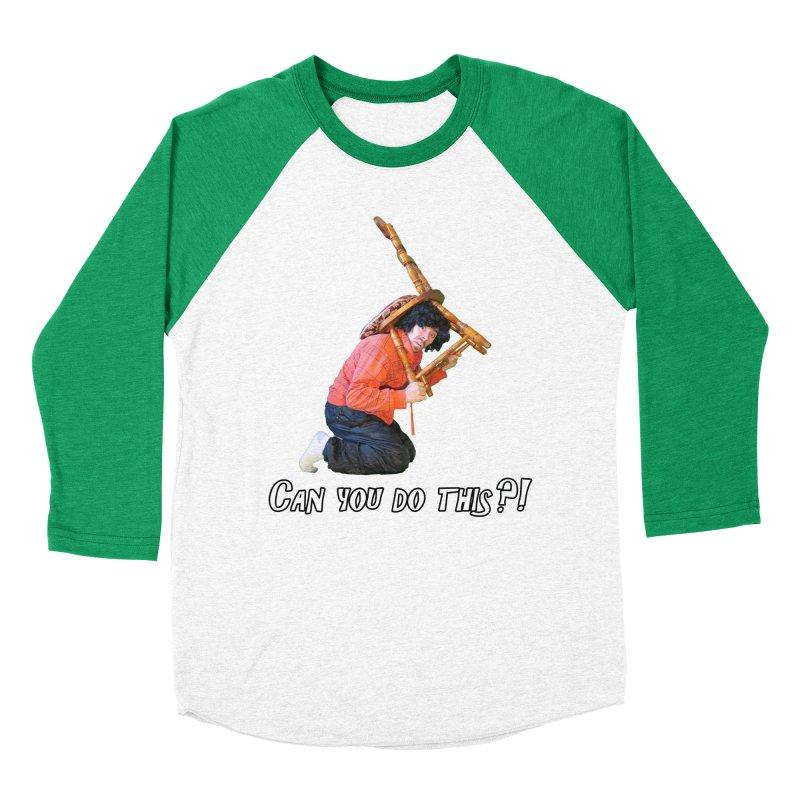 Kent The Athlete Men's Baseball Triblend Longsleeve T-Shirt by Vegetable Police