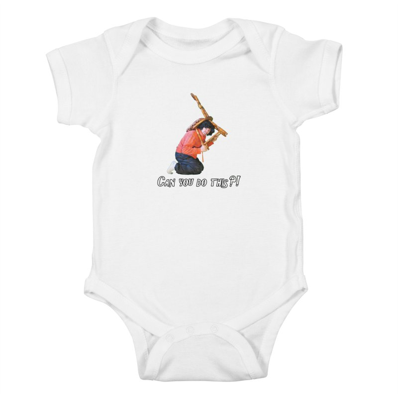 Kent The Athlete Kids Baby Bodysuit by Vegetable Police