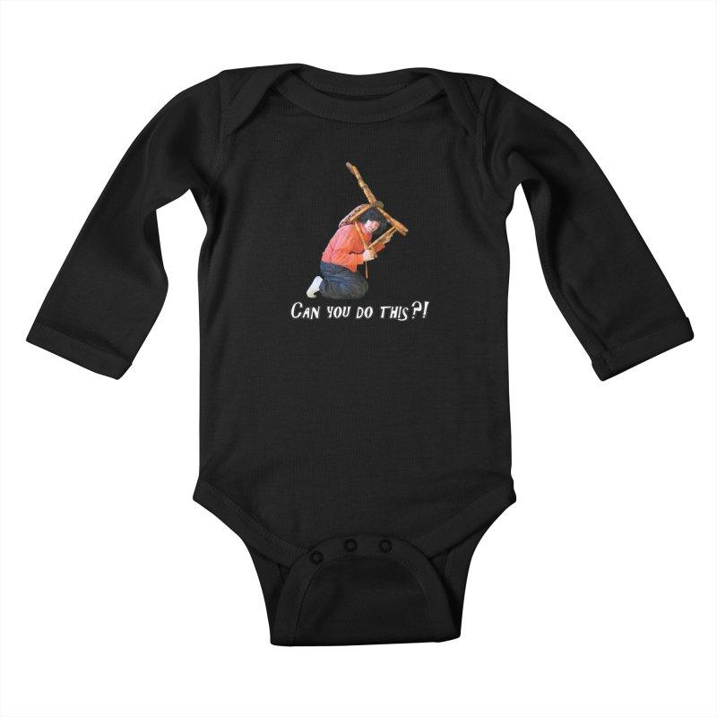 Kent The Athlete Kids Baby Longsleeve Bodysuit by Vegetable Police