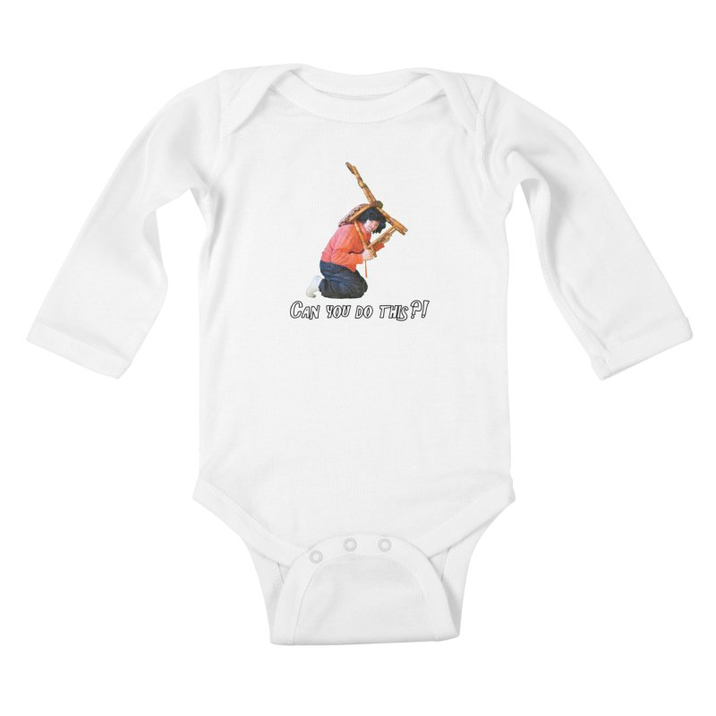 Kent The Athlete Kids Baby Longsleeve Bodysuit by Vegetable Police