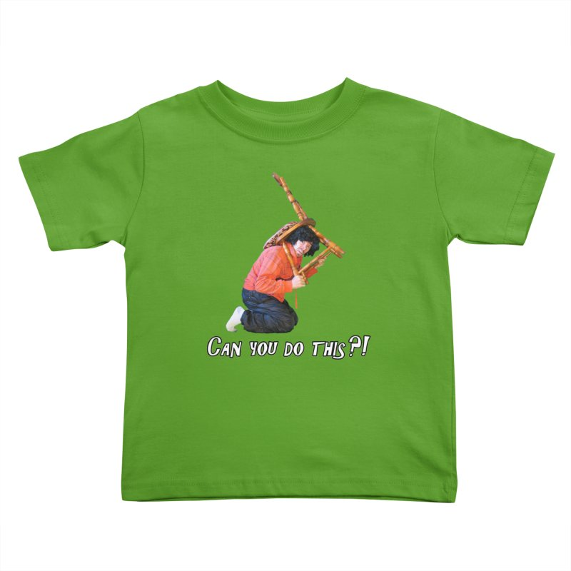 Kent The Athlete Kids Toddler T-Shirt by Vegetable Police