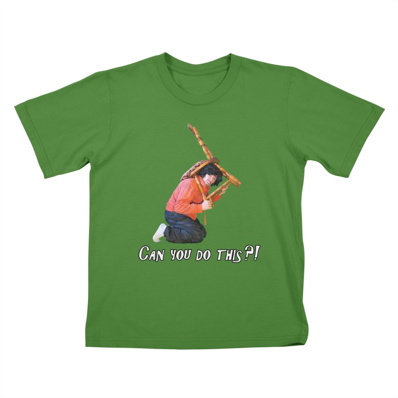 Kent The Athlete Kids T-Shirt by Vegetable Police