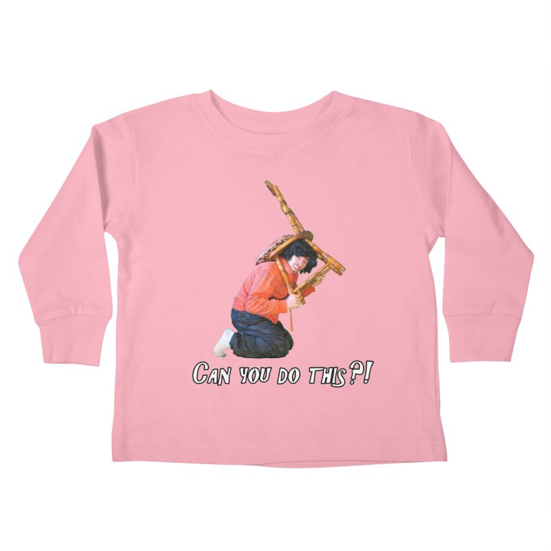 Kent The Athlete Kids Toddler Longsleeve T-Shirt by Vegetable Police