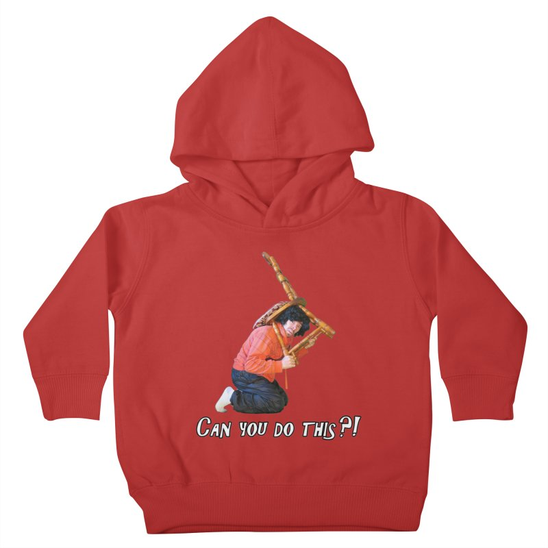 Kent The Athlete Kids Toddler Pullover Hoody by Vegetable Police