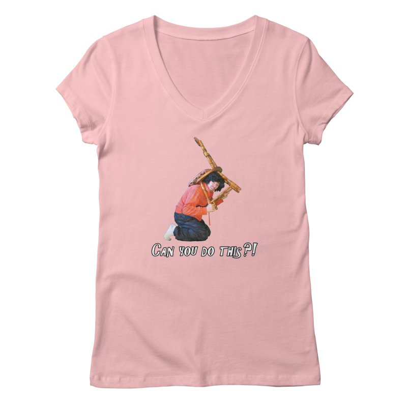 Kent The Athlete Women's V-Neck by Vegetable Police