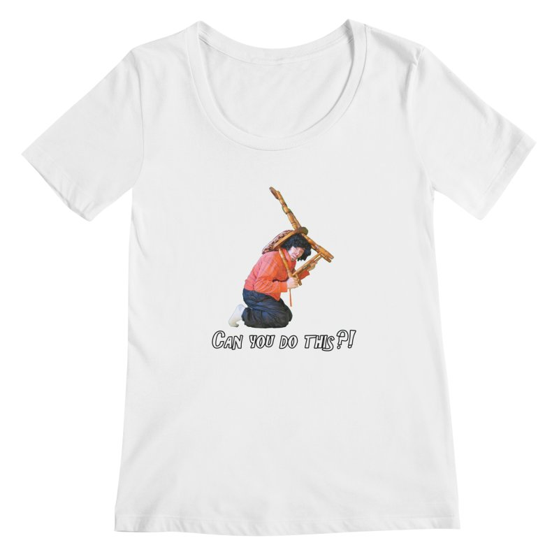 Kent The Athlete Women's Scoopneck by Vegetable Police
