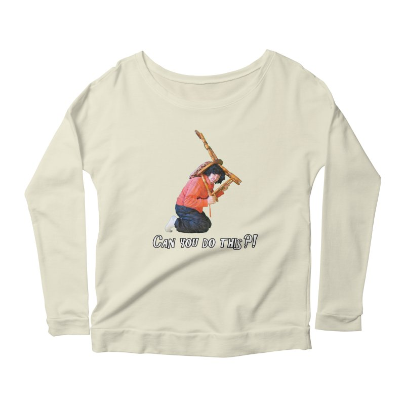 Kent The Athlete Women's Longsleeve Scoopneck  by Vegetable Police