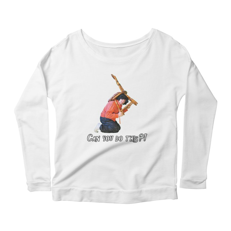 Kent The Athlete Women's Scoop Neck Longsleeve T-Shirt by Vegetable Police
