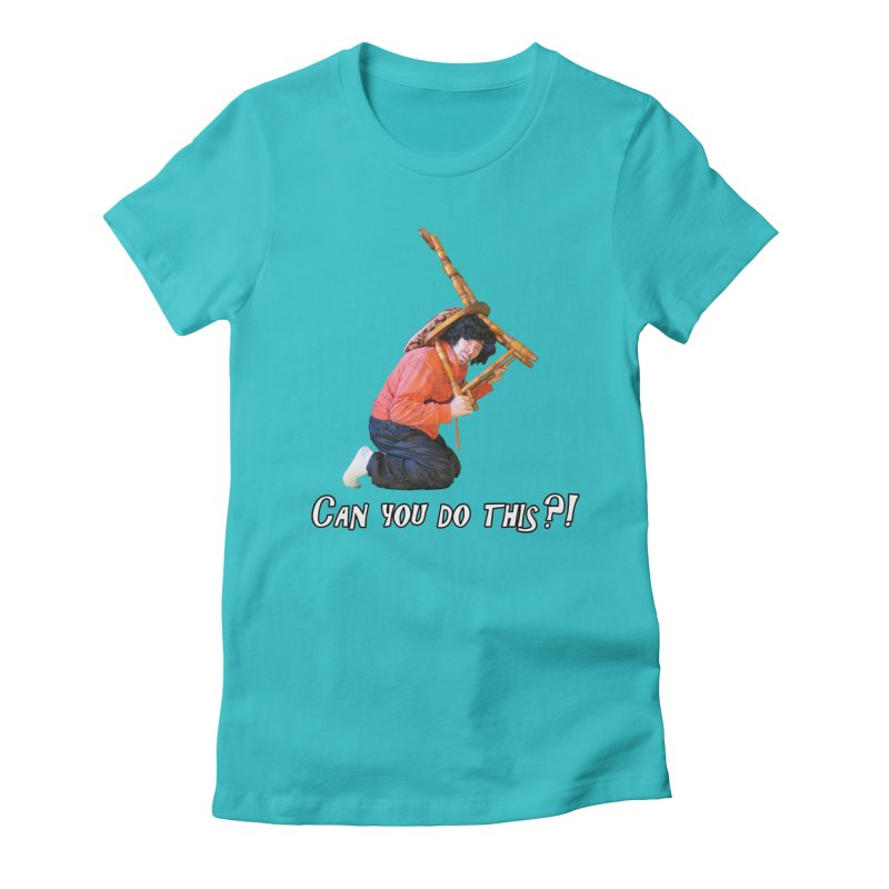 Kent The Athlete Women's Fitted T-Shirt by Vegetable Police