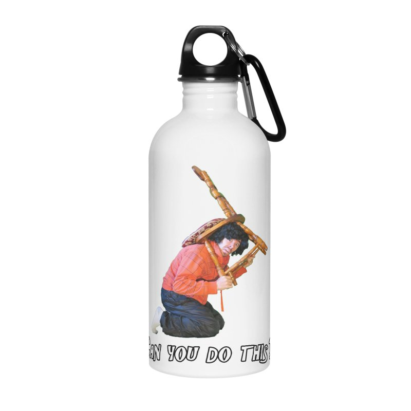 Kent The Athlete Accessories Water Bottle by Vegetable Police
