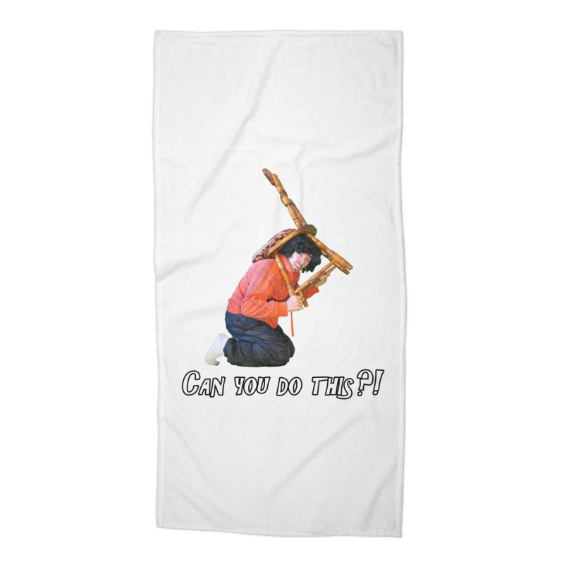 Kent The Athlete Accessories Beach Towel by Vegetable Police