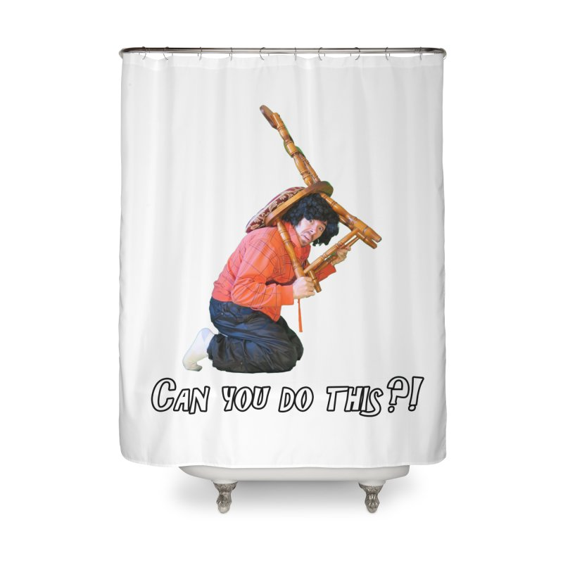 Kent The Athlete Home Shower Curtain by Vegetable Police