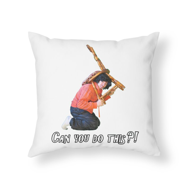 Kent The Athlete Home Throw Pillow by Vegetable Police