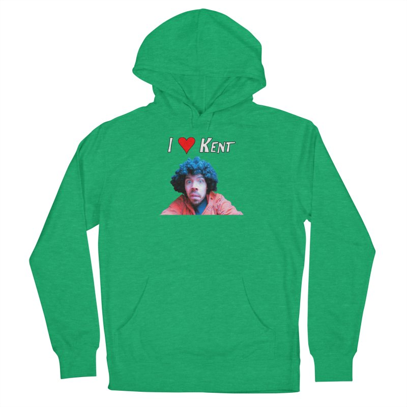 I Love Kent Men's French Terry Pullover Hoody by Vegetable Police