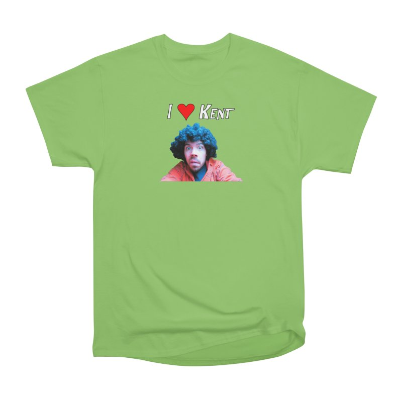 I Love Kent Women's Heavyweight Unisex T-Shirt by Vegetable Police